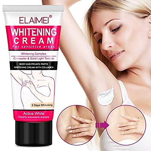 Jewelry Box Elegant (Whitening Cream Natural Underarm Lightening and Brightening Deodorant Cream Armpit Whitening Body Creams Underarm Repair Between Legs Knees Private Part)