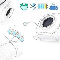 YOURAN Impresora portátil Mini inalámbrica Bluetooth 4.0 Impresora fotográfica Laber Maker Papel de impresión de Bolsillo Práctica Impresora térmica con Bluetooth para Android/iOS producto-200DPI