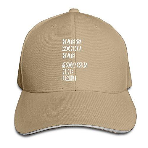 LaLago Haters Gonna Hate Fancy Sun Protection Sandwich Hat (Milkman Costume Amazon)