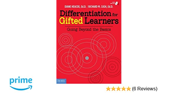 Amazon Differentiation For Gifted Learners Going Beyond The