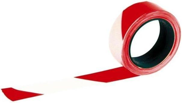 Rubalise Chantier Rouge Et Blanc 50mmx500m SOFOP