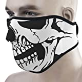 Outdoor Neoprene Skull Half Face Mask Breathable Face Shield Guards For Snowboard Ski Cycling Motorcycle
