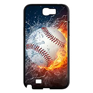 baseball Custom Cover Case with Hard Shell Protection for Samsung Galaxy Note 2 N7100 Case lxa#242813