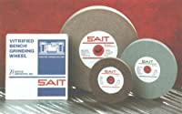 United Abrasives-SAIT 28141 10 by 1 by 1-1/4 GC80 Bench Grinding Wheel Vitrified, 1-Pack