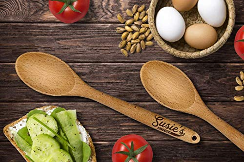 Personalized Wooden Spoon, Engraved Wooden Spoon, Personalized Spoon Deal (Large Image)
