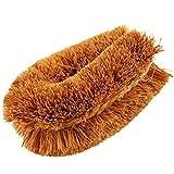 2 Pcs.,Natural Coconut Fiber Brush, Coco brush, Coir brush, Coir Fiber Vegetable Brush, Vegetable Brush, Coconut brush (2 Pcs.)