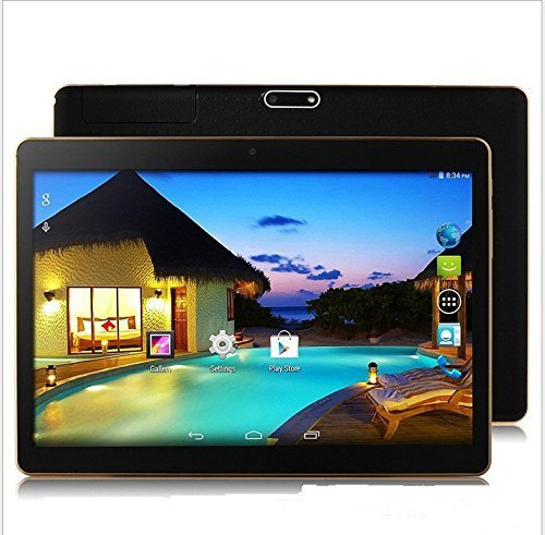 4G LTE 9.7 inch Tablet Octa Core 2560X1600 IPS Bluetooth RAM 4GB ROM 64GB 8.0MP 3G MTK6592 Dual sim card Phone Call Tablets PC Android 5.1 GPS electronics 7 9 10(gold) -  fengxiang