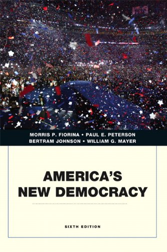 America's New Democracy (Penguin Academics)