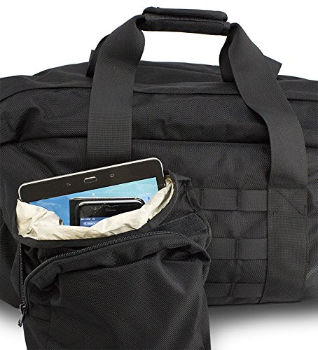 Mission Darkness X2 Faraday Duffel Bag. Laptop, Tablet, Phone & Other Device Shielding for Law Enforcement, Military, Executive Privacy, Travel, Data Security, Anti-hacking & Anti-tracking Assurance Mission Collection Computer