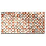 Autumnal Star Bingo Rectangle Tablecloth: Large Dining Room Kitchen Woven Polyester Custom Print