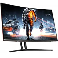 Crossover Display 3260QD Curved Gaming Monitor 32 WQHD (2560x1440) Real 75Hz Gaming Monitor, DP 1.4 /HDMI 2.0, Cross Hair, AMD Freesync, Low Blue Light / Flicker Free, 1800R, Crosshair