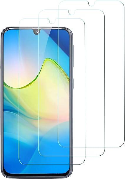 Custodia Compatible, Senza Bolle, HD Chiaro, 9H Durezza, Anti-Graffio 3-Pack Flysee Vetro Temperato per Samsung Galaxy A40, Pellicola Protettiva per Samsung Galaxy A40