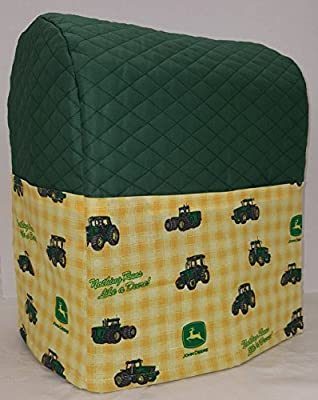 Penny's Needful Things John Deere Tractor Cover Compatible for Kitchenaid Stand Mixer