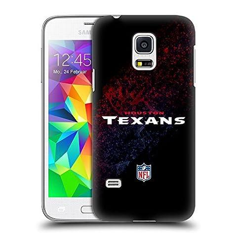 Official NFL Blur Houston Texans Logo Hard Back Case for Samsung Galaxy S5 mini (Houston Texans Samsung S5 Case)