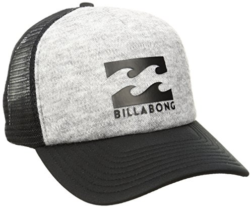 Billabong Men's Podium Trucker Hat, Grey Heather, One Size (Billabong Men Hat)