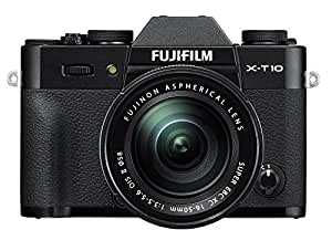 Fujifilm X-T10 Black Mirrorless Digital Camera Kit with XC16-50mm F3.5-5.6 OIS II Lens (Old Model)