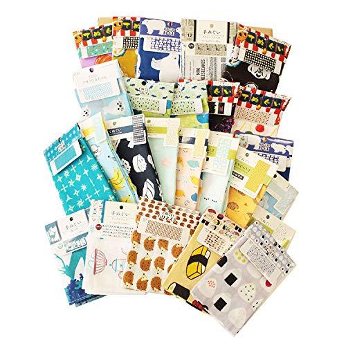 tenugui towel Japanese Traditional style hand towel Random assort set by JAPANESE cool items -