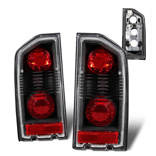 - SPPC Black Euro Tail Lights Assembly Set For Suzuki Vitara - (Pair) Driver Left and Passenger Right Side Replacement