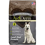 AvoDerm Natural Senior Health+ Grain Free Lamb Meal Dry Dog Food, 24-Pound