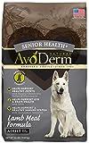 AvoDerm Natural Senior Health+ Grain Free Lamb Meal Dry Dog Food, 24-Pound