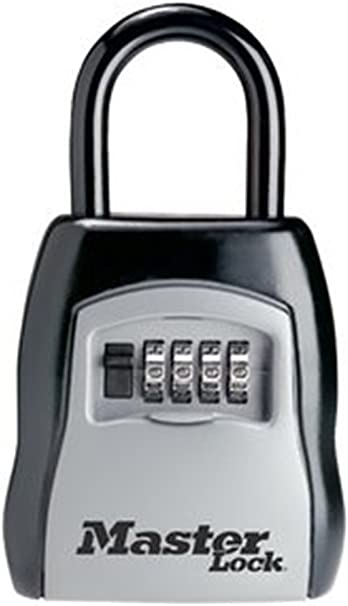 FREE SHIPPING MASTER LOCK 5400D PORTABLE LOCK BOX NEW