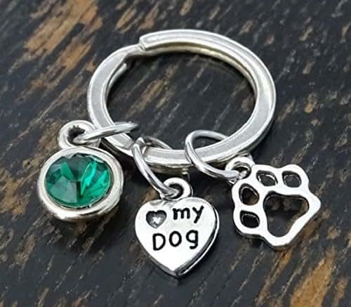 Amazon.com: Love my Dog Keychain, Love my Dog Charm, Love