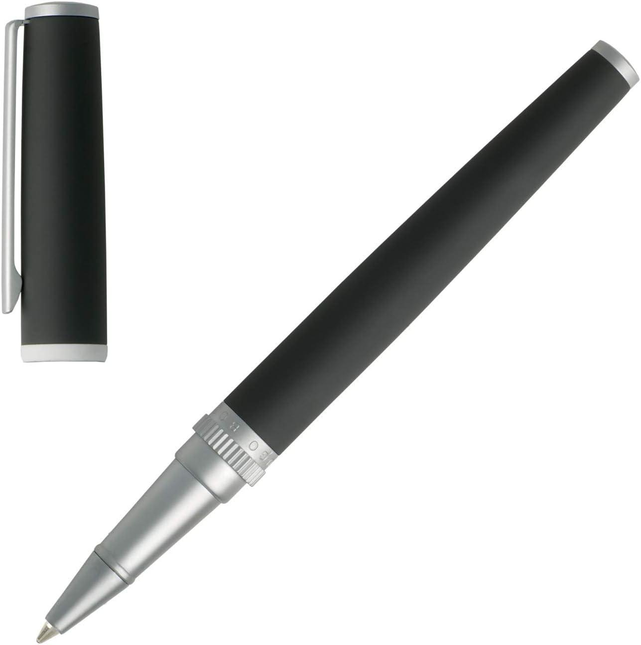 Black Hugo Boss HSG8024A Gear Ballpoint Pen