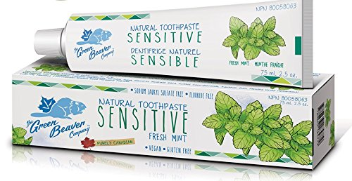 Green Beaver Sensitive Teeth Toothpaste Fresh Mint, 75 ml