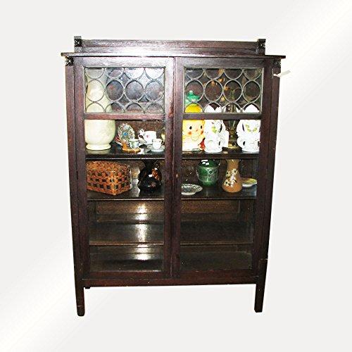 (Antique Arts & Crafts China Cabinet f4108 (Stickley)