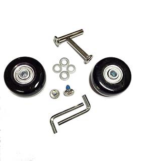 glory100 ruedas de repuesto para maleta y patines de ruedas alignées – con rodamientos, color