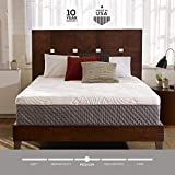 Sleep Innovations Shiloh 12-inch Memory Foam Mattress, Bed in a Box, Smooth Cover, Made in The USA, 20-Year...