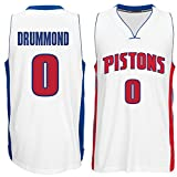 Men's Andre Drummond #0 Basketball Jersey Basketball Shirt White Home Jersey