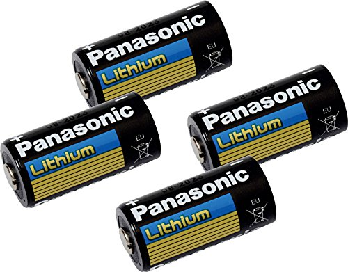 IEC CR15H270 Replacement Battery Combo-Pack Includes: 4 x Lith-8 PANA Batteries