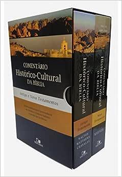 Comentário Histórico-Cultural da Bíblia. Antigo e Novo Testamento - Caixa