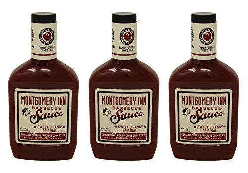 Montgomery Inn Barbecue Sauce, Original, 28oz (Pack of 3)