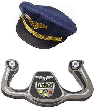 Disfraz de piloto infantil, Capitán de avión infantil Piloto Juego ...