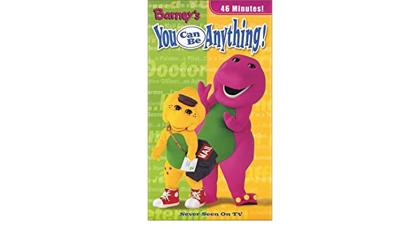 Barneys You Can Be Anything [USA] [VHS]: Amazon.es: Barney ...