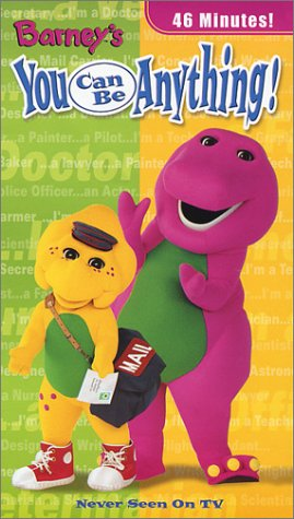 Where to find barney you can be anything vhs?