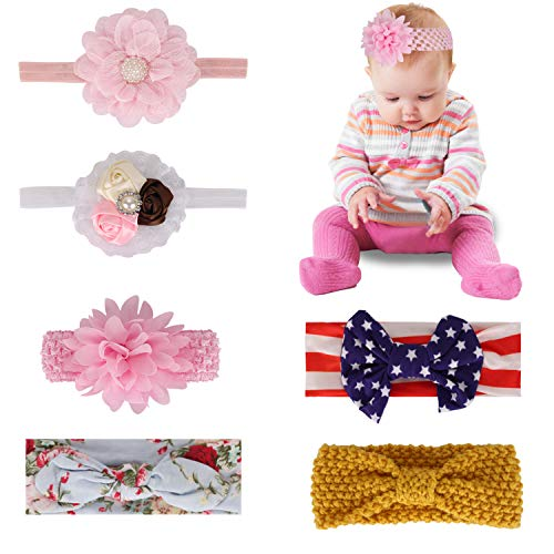 Baby Headbands for Newborn Toddler and Children...