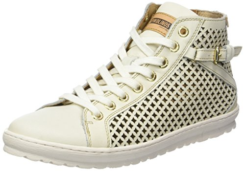 Pikolinos Women's Lagos 901_v17 Hi-Top Sneakers White (Nata) best store to get 7NItkrAa