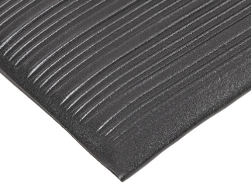 NoTrax T42 Standard PVC Safety/Anti-Fatigue Comfort Rest Ribbed Foam, For Dry Areas, 27