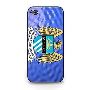 Manchester City FC Team Logo Protective Case Premium Design for Iphone 5c