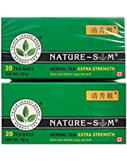 2 Packs - Nature SM Extra Strength Herbal Weight Loss Tea, All Natural Ingredients, Over 1 Billion Cups Served!!!