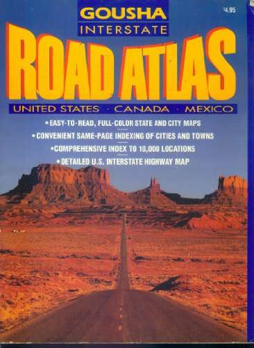 Interstate Atlas U.S.A. 1993 (Gousha Road - Gousha Maps