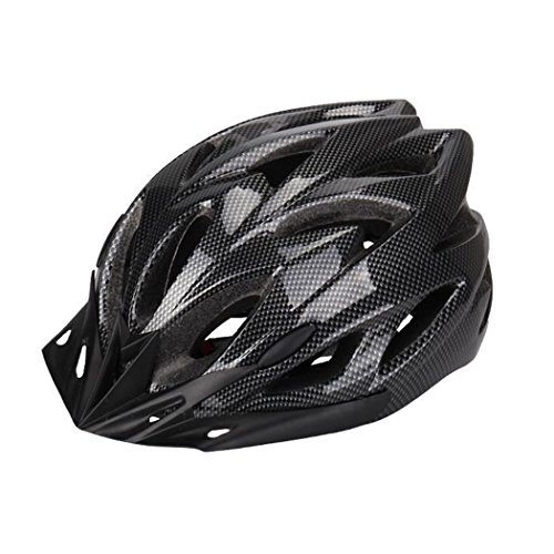 Eyouelife Wind Cross Road/Mountain Bike Helmet Cycling EPS Teens Helment / Adult Helmet For Safety Protection / black