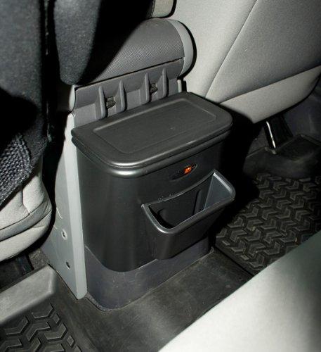 Rugged Ridge 13551.15 Rear Seat Organizer and Center Console Trash Bin