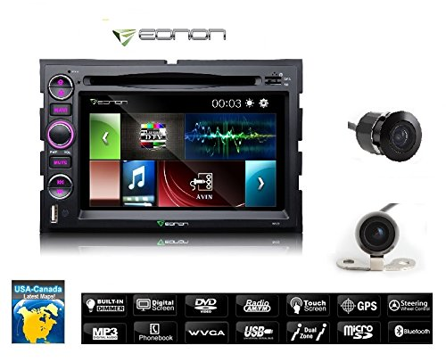 New! D5173zu Ford F150 2004 2008 7 Digital Touch Screen Car Stereo Radio Dvd Gps Navigation Hd Backup Camera And Usa Maps!