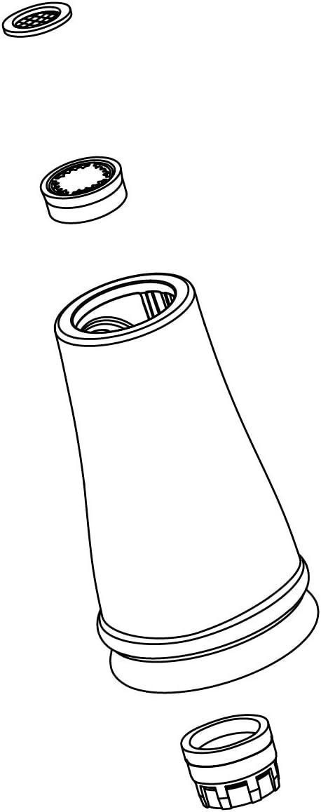 KOHLER 1218822-VS Part Plumbing Fixture Repair Supplies, Vibrant Stainless,3.4 Ounce