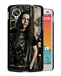 Beautiful Designed Cover Case With Black Tide Haircut Hair Graffiti House For Google Nexus 5 Phone Case