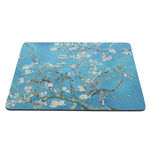 (Vincent Van Gogh Mousepad Almond Blossom)